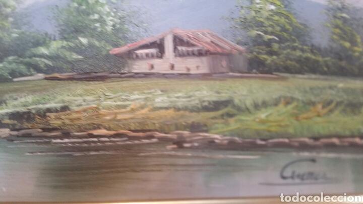 Art: Cuadro paisajistico antiguo con firma de pintor - Foto 7 - 155015890