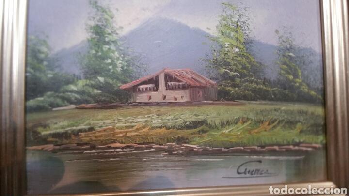 Art: Cuadro paisajistico antiguo con firma de pintor - Foto 8 - 155015890