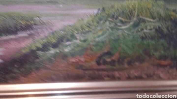 Art: Cuadro paisajistico antiguo con firma de pintor - Foto 5 - 155016389