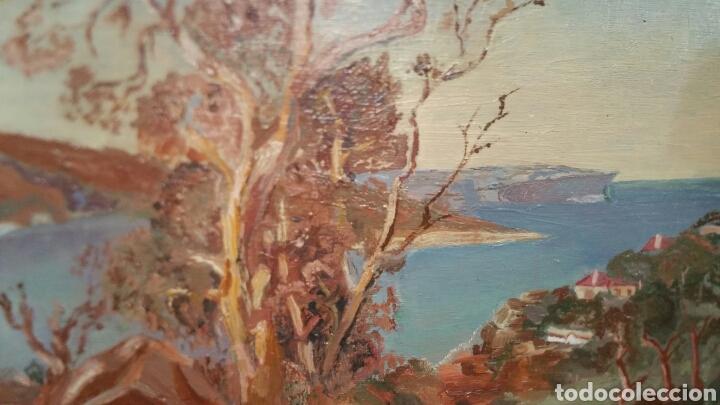 PINTURA PAISAJÍSTICA COSTERA UTILIZA LA TÉCNICA ÓLEO SOBRE MADERA (Art - Painting - Contemporary Painting)