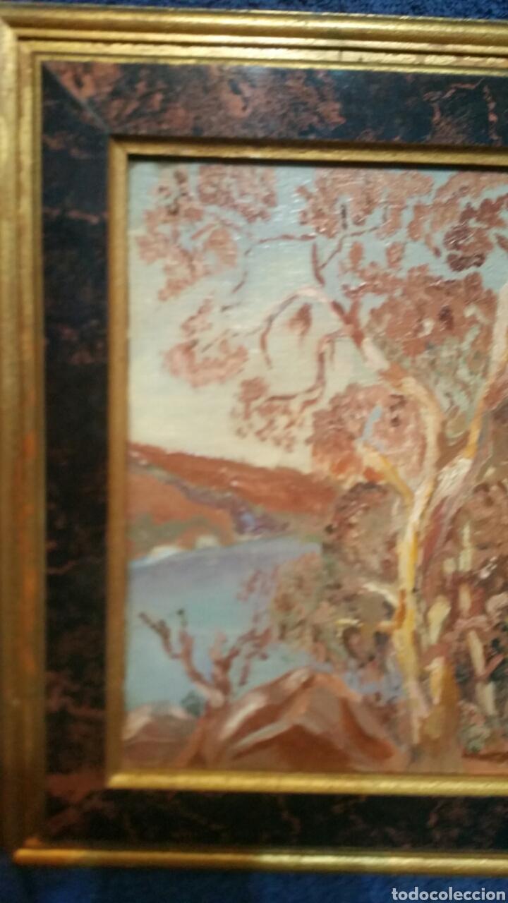 Art: Pintura paisajística costera utiliza la técnica óleo sobre madera - Foto 7 - 155017689