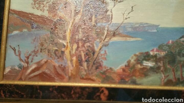 Art: Pintura paisajística costera utiliza la técnica óleo sobre madera - Foto 8 - 155017689