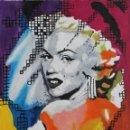 Arte: MARILYN EN COLORES OBRA DE GILABERTE. Lote 155018482