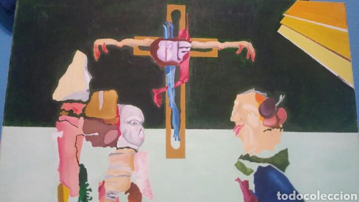 Art: Pintura abstracta de la crucifixión de Cristo - Foto 6 - 155018538