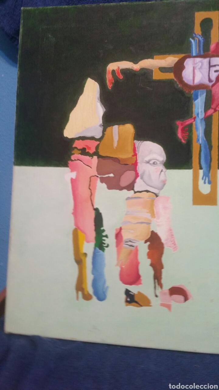 Art: Pintura abstracta de la crucifixión de Cristo - Foto 7 - 155018538