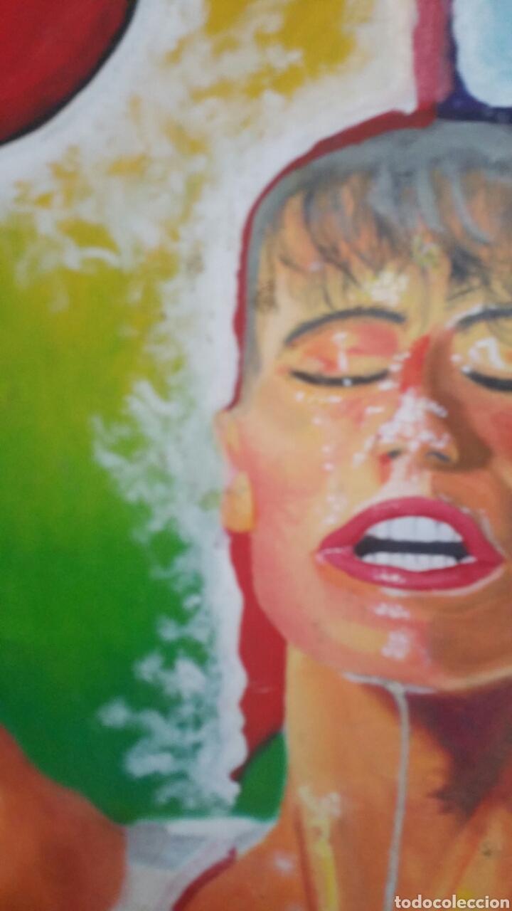 Art: Pintura abstracta utilizando la técnica óleo sobre lienzo - Foto 2 - 155019429