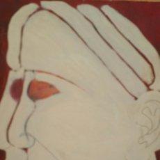 Arte: PINTURA ABSTRACTA UTILIZANDO LA TÉCNICA ÓLEO SOBRE LIENZO. Lote 155019672