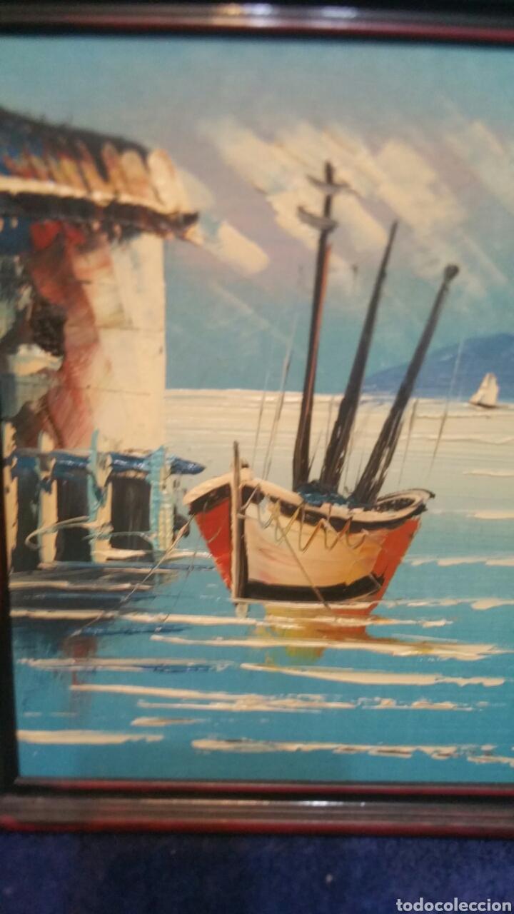 Art: Pintura de Marina utilizando la técnica óleo sobre madera - Foto 2 - 155021117