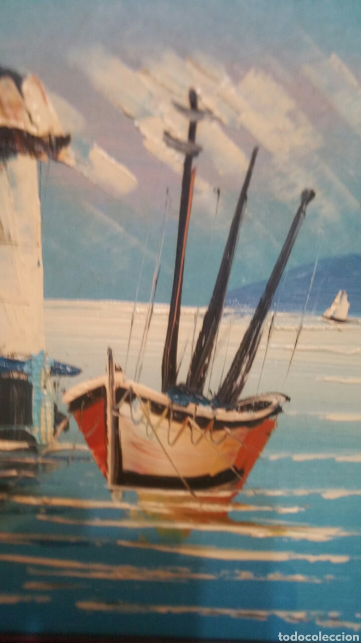 Art: Pintura de Marina utilizando la técnica óleo sobre madera - Foto 3 - 155021117