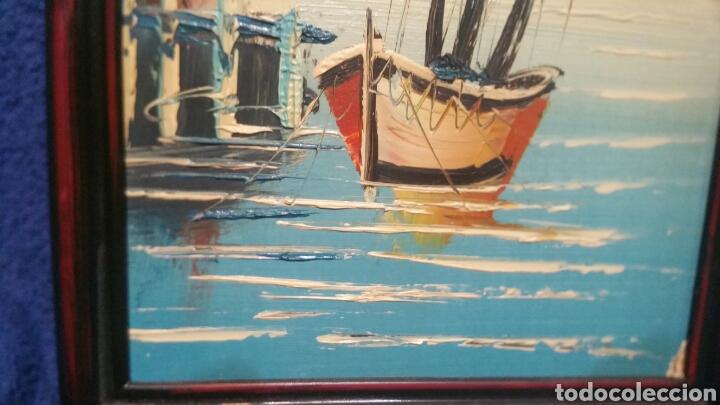 Art: Pintura de Marina utilizando la técnica óleo sobre madera - Foto 4 - 155021117