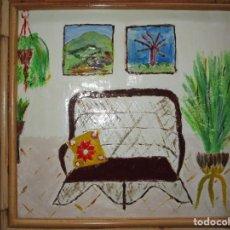 Arte: ANTIGUA PINTURA FIRMADA GONZALEZ IMPRESIONISMO. Lote 155079474