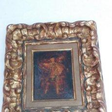 Arte: CUADRO COLONIAL 15 X 19 CM. Lote 155091322