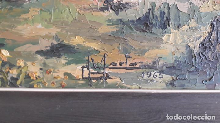 Arte: Cuadro pintura óleo firmada - Foto 2 - 155102790