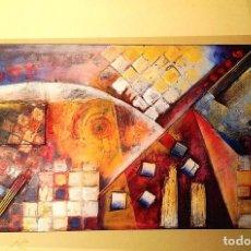 Arte: CUADRO ÓLEO ARTE EXPRESIONISTA ORIGINAL MEDIDAS 120X60CM. Lote 155134686