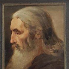 Arte: OLEO SOBRE PAPEL, SIGLO XIX, (PODRÍA TRATARSE DE TORRESCASSANA), NO ESTA FIRMADO, (40X29). Lote 155135278
