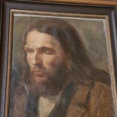 Arte: OLEO SOBRE PAPEL, SIGLO XIX, (PODRÍA TRATARSE DE TORRESCASSANA), NO ESTA FIRMADO, (39X29). Lote 155135894
