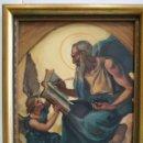 Arte: ÓLEO APÓSTOL SAN MATEO, RETRATO EVANGELISTA, ART DECO 1931, MODERNISTA, ART NOUVEAU. Lote 155259718