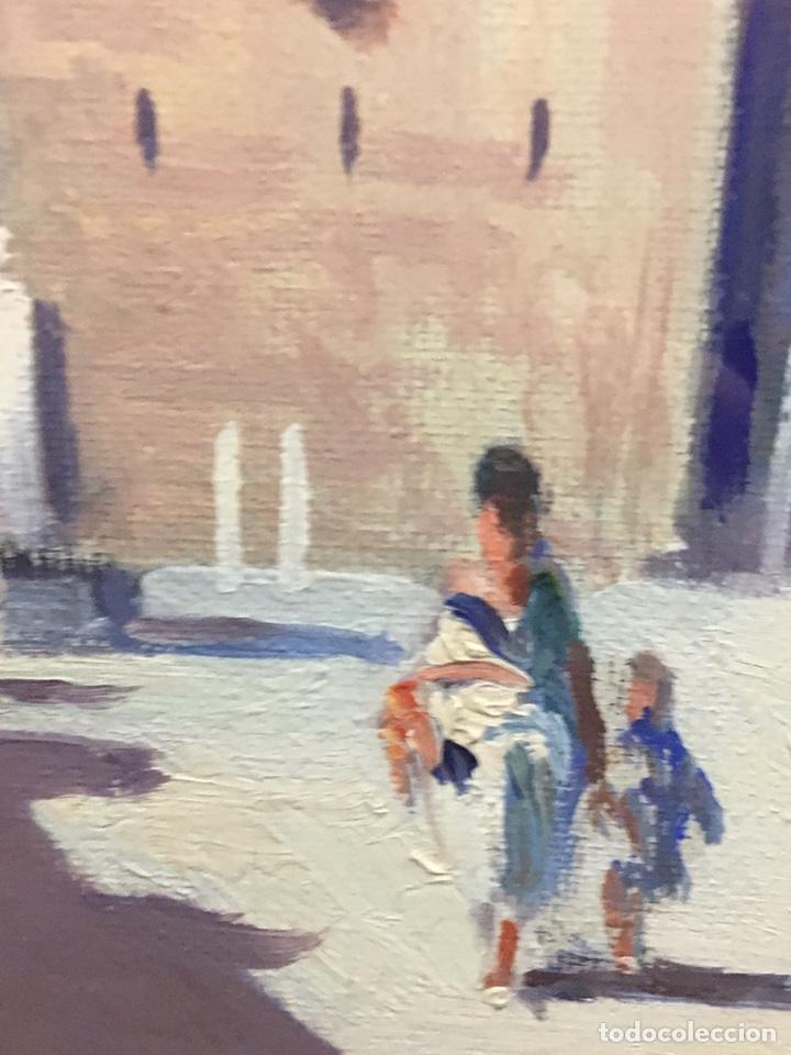 Art: Lote de tres pinturas al óleo por Manuel Tejero ( S XIX-XX ) de Sevilla - Foto 8 - 155269920