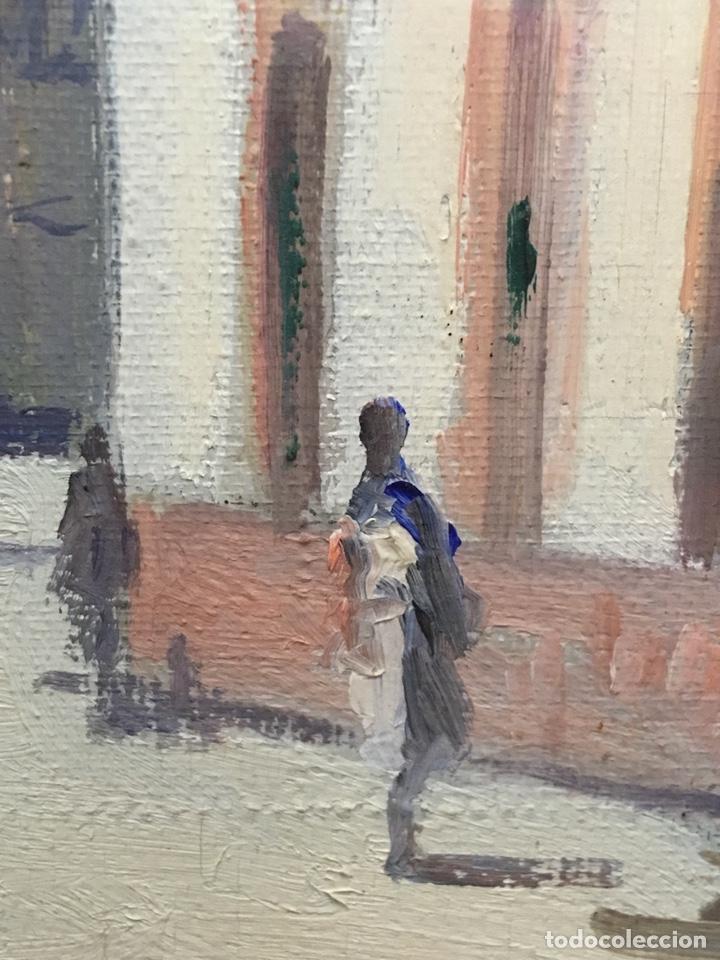 Art: Lote de tres pinturas al óleo por Manuel Tejero ( S XIX-XX ) de Sevilla - Foto 10 - 155269920