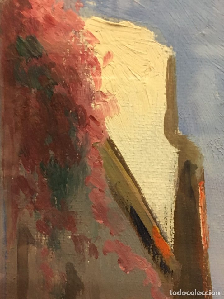 Art: Lote de tres pinturas al óleo por Manuel Tejero ( S XIX-XX ) de Sevilla - Foto 15 - 155269920