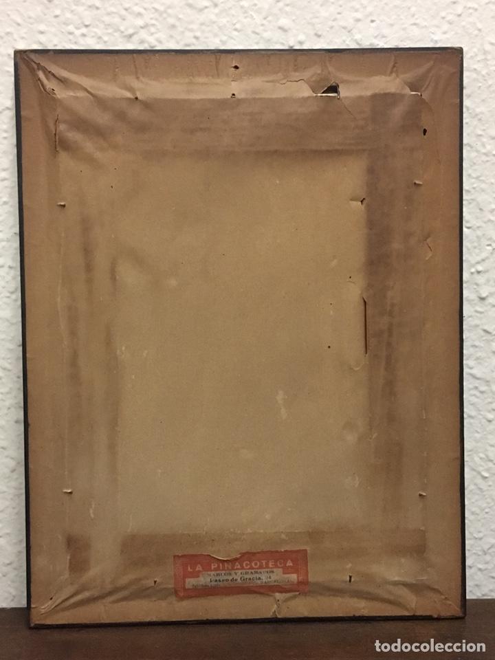 Art: Lote de tres pinturas al óleo por Manuel Tejero ( S XIX-XX ) de Sevilla - Foto 26 - 155269920