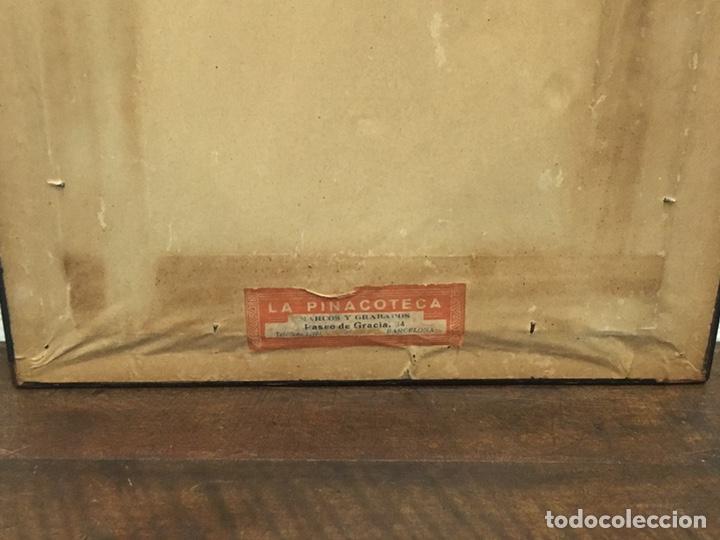 Art: Lote de tres pinturas al óleo por Manuel Tejero ( S XIX-XX ) de Sevilla - Foto 28 - 155269920