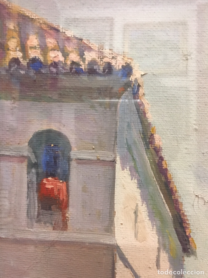 Art: Lote de tres pinturas al óleo por Manuel Tejero ( S XIX-XX ) de Sevilla - Foto 32 - 155269920
