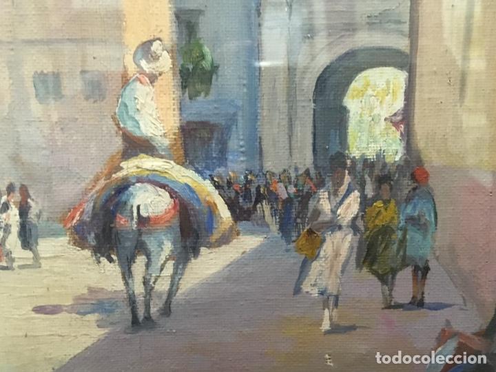 Art: Lote de tres pinturas al óleo por Manuel Tejero ( S XIX-XX ) de Sevilla - Foto 35 - 155269920