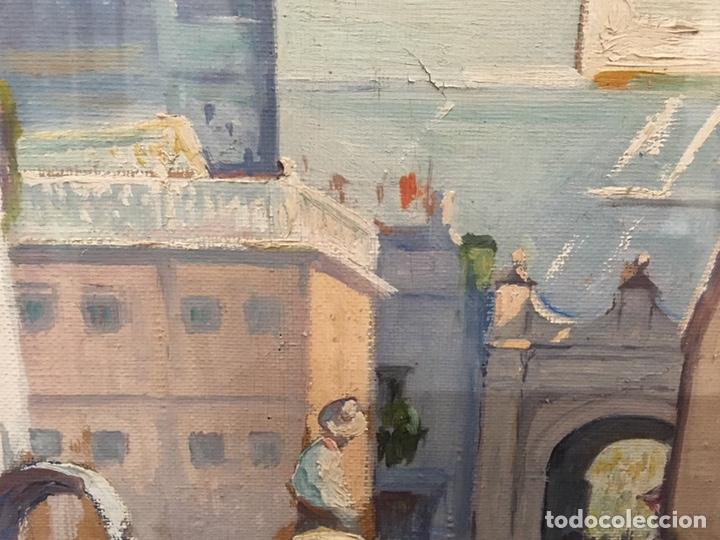 Art: Lote de tres pinturas al óleo por Manuel Tejero ( S XIX-XX ) de Sevilla - Foto 37 - 155269920
