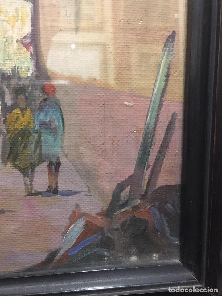 Art: Lote de tres pinturas al óleo por Manuel Tejero ( S XIX-XX ) de Sevilla - Foto 39 - 155269920