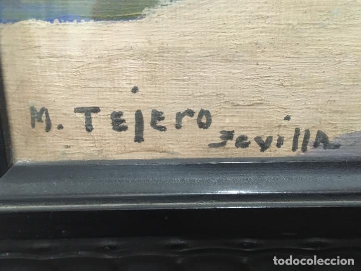 Art: Lote de tres pinturas al óleo por Manuel Tejero ( S XIX-XX ) de Sevilla - Foto 41 - 155269920