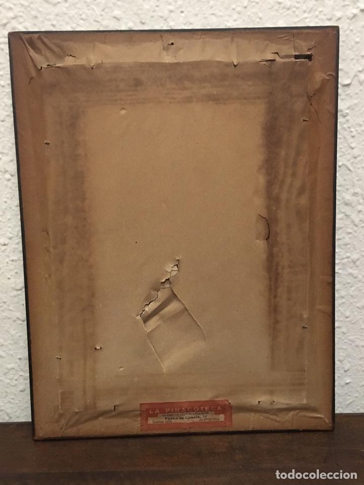 Art: Lote de tres pinturas al óleo por Manuel Tejero ( S XIX-XX ) de Sevilla - Foto 47 - 155269920