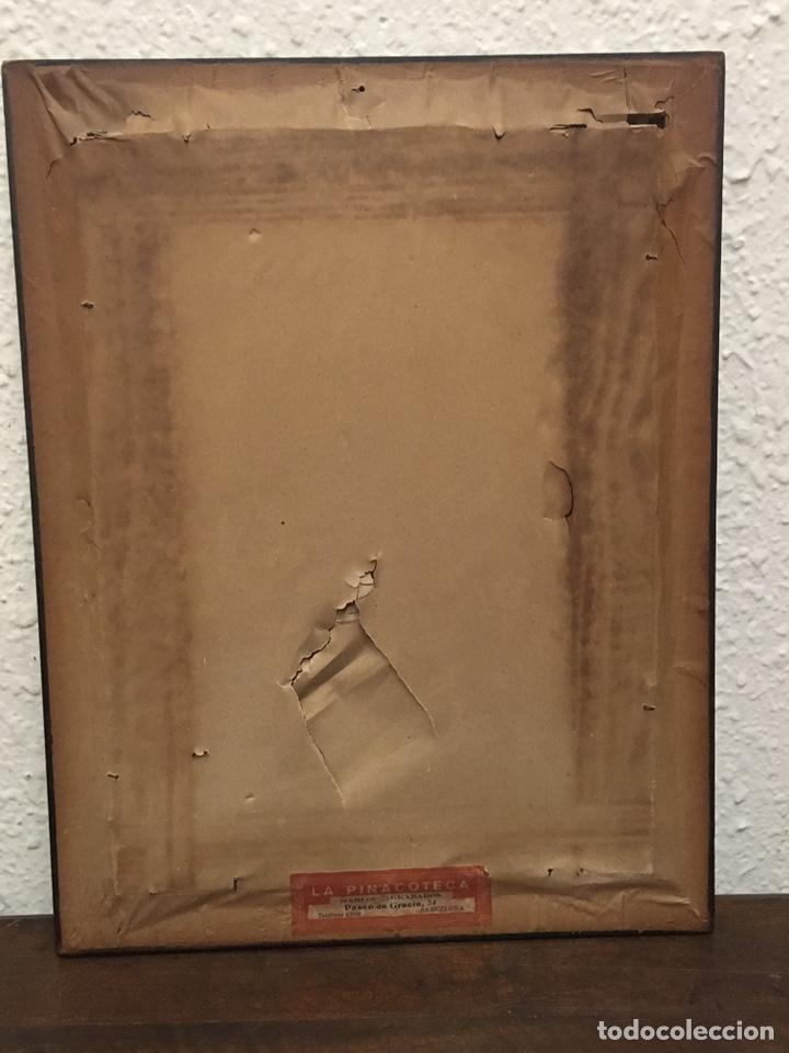 Art: Lote de tres pinturas al óleo por Manuel Tejero ( S XIX-XX ) de Sevilla - Foto 48 - 155269920