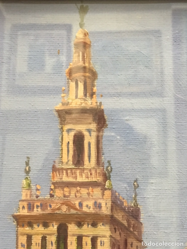 Art: Lote de tres pinturas al óleo por Manuel Tejero ( S XIX-XX ) de Sevilla - Foto 54 - 155269920