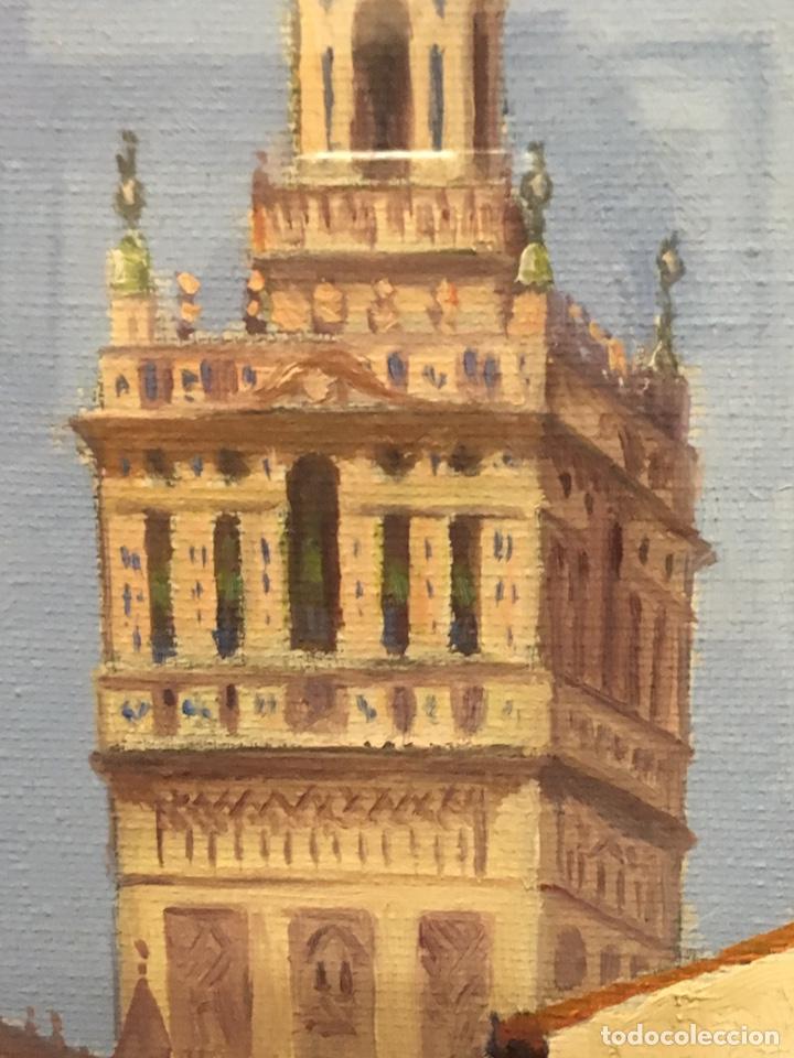 Art: Lote de tres pinturas al óleo por Manuel Tejero ( S XIX-XX ) de Sevilla - Foto 55 - 155269920