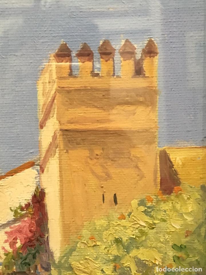 Art: Lote de tres pinturas al óleo por Manuel Tejero ( S XIX-XX ) de Sevilla - Foto 56 - 155269920