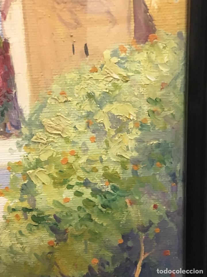 Art: Lote de tres pinturas al óleo por Manuel Tejero ( S XIX-XX ) de Sevilla - Foto 57 - 155269920
