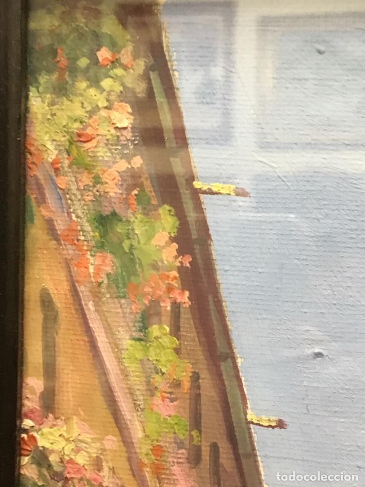 Art: Lote de tres pinturas al óleo por Manuel Tejero ( S XIX-XX ) de Sevilla - Foto 60 - 155269920