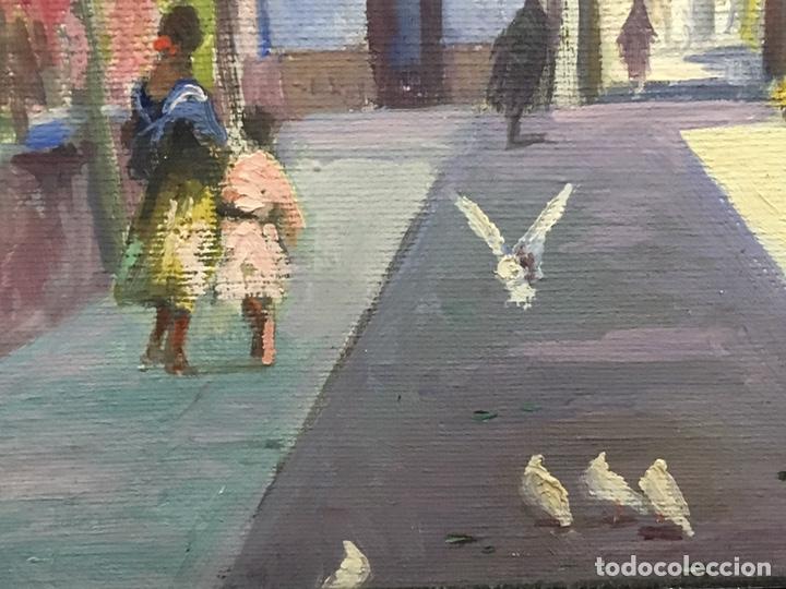 Art: Lote de tres pinturas al óleo por Manuel Tejero ( S XIX-XX ) de Sevilla - Foto 61 - 155269920