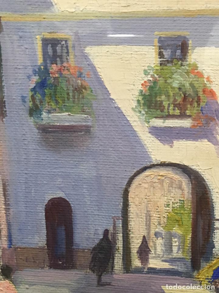 Art: Lote de tres pinturas al óleo por Manuel Tejero ( S XIX-XX ) de Sevilla - Foto 65 - 155269920