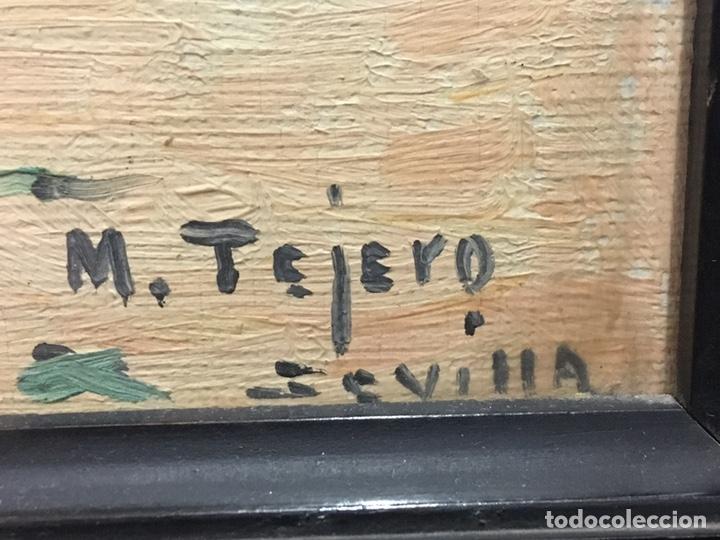 Art: Lote de tres pinturas al óleo por Manuel Tejero ( S XIX-XX ) de Sevilla - Foto 67 - 155269920