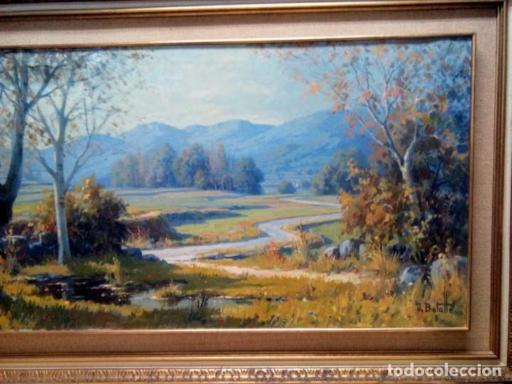 Arte: Juli Batalle Murla, Óleo sobre lienzo de gran formato. - Foto 3 - 155322446