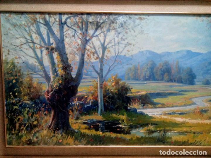 Arte: Juli Batalle Murla, Óleo sobre lienzo de gran formato. - Foto 6 - 155322446