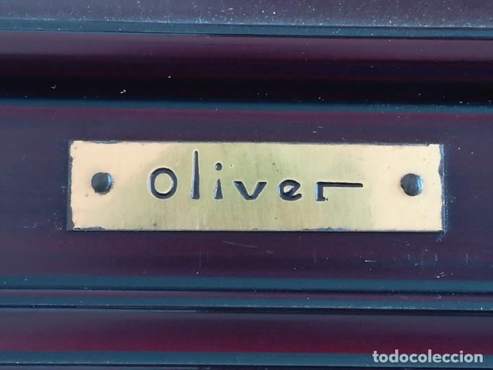 Arte: Óleo Paisaje sobre tabla, firmado Oliver (Francesc Oliver Fradera) - 23 x 18 cm - Foto 4 - 155363458