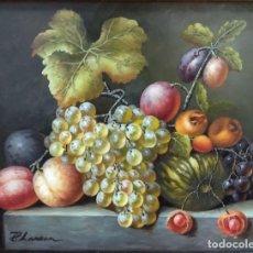 Arte: ESPECTACULAR BODEGÓN ESCUELA VALENCIANA - CIRCA 1790 - RESTAURADO - SALIDA 1€!!!. Lote 155382698