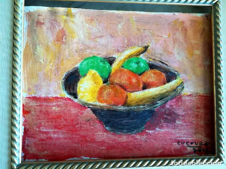 BODEGON FRUTAS (Arte - Pintura - Pintura al Óleo Contemporánea )