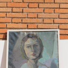 Arte: OLEO SOBRE TELA DE AINA NAMMACK. Lote 155500274