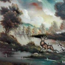 Arte: EXCELENTE OLEO ANTIGUO ANÓNIMO. Lote 155500350