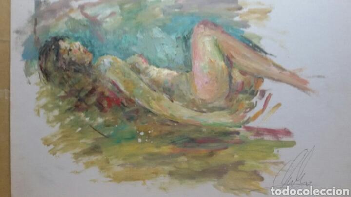 CUADRO CUERPO DE MUJER ORIGINAL (Arte - Pintura - Pintura al Óleo Contemporánea )