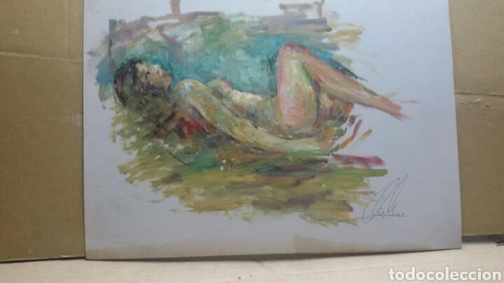 Arte: Cuadro cuerpo de mujer original - Foto 2 - 155536918